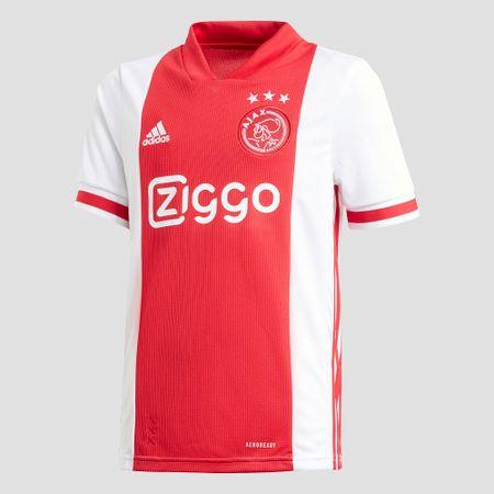 adidas Afc ajax thuisshirt 20/21 wit/rood kinderen Kinderen