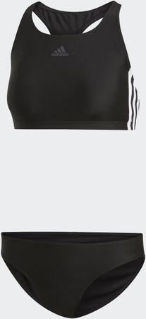 adidas Fit 2Pc 3S Dames Bikini - Black