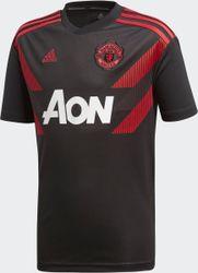 adidas Manchester United Trainingsshirt 2018/2019 Heren - Black/Real Red