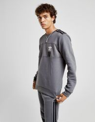 adidas Originals ID96 Crew Sweatshirt Heren Grijs - Heren