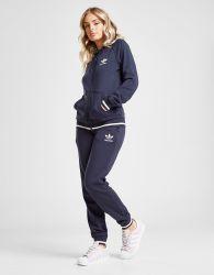 adidas Originals Trefoil Stripe Fleece Track Pants Dames - alleen bij JD - Blauw - Dames