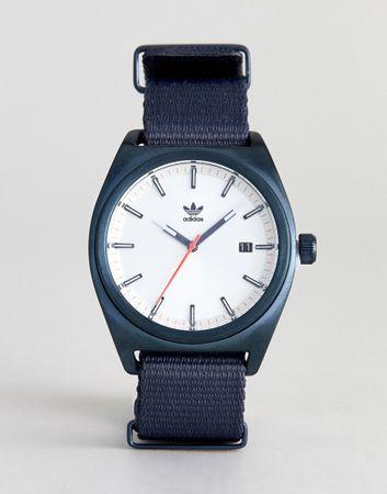 adidas - Z09 Capital - Canvas horloge in marineblauw