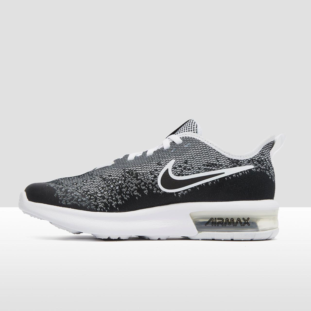 a0f52b76fcc Nike Air max sequent 4 sneakers zwart/grijs kinderen - Vergelijk prijzen