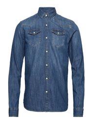 Ams Blauw Easy Western Shirt