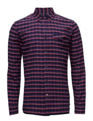 Ams Blauw Pure Indigo Shirt Regular Fit