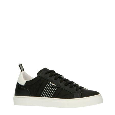 Antony Morato leren sneakers zwart