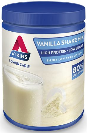 Atkins Poedershake Mix Vanille