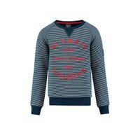 Baker Bridge gestreepte sweater marine