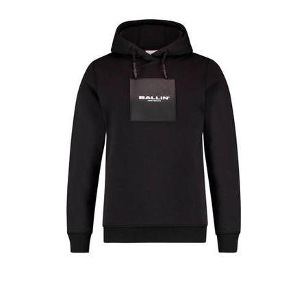 Ballin hoodie met logo zwart