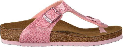 Birkenstock Gizeh Magic Snake slippers roze