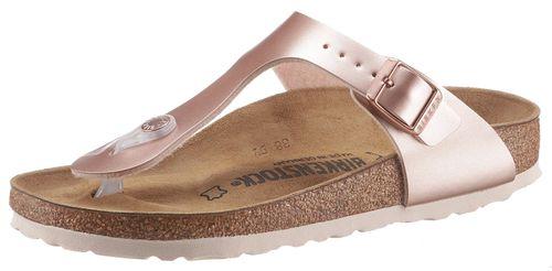 Birkenstock teenslippers Gizeh Inspired Electric Metallic in schoenwijdte: smal