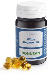 Bonusan Wilde oregano olie 60 softgel capsules