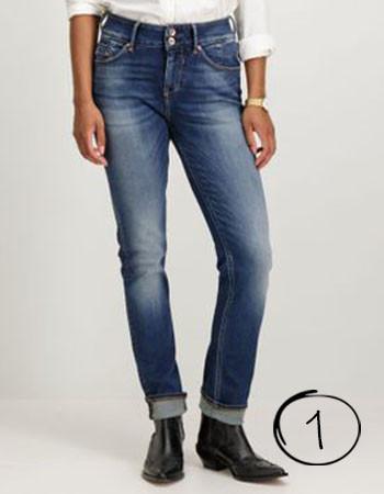 Jeans voor brede Heupen