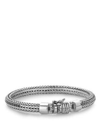 Buddha to Buddha Ellen Junior XS schakelarmband van zilver