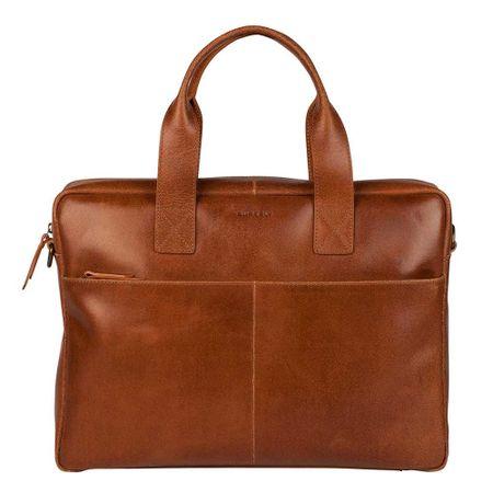 "Burkely Vintage Laptop Bag 15.6"" cognac"