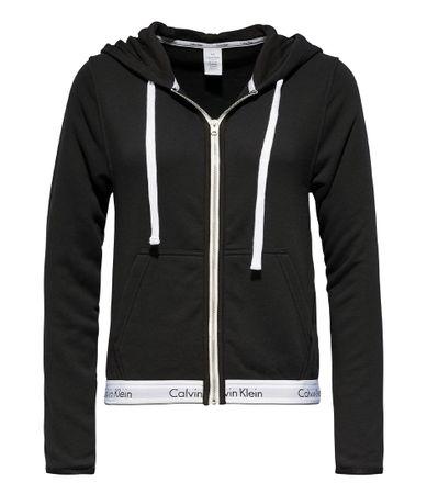 Calvin Klein Vesten Top Hoodie Full Zip Zwart