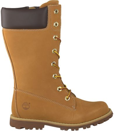 Camel Timberland Lange Laarzen Girls Classic Tall Lace-up