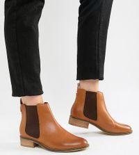 Carvela - Leren platte Chelsea boots
