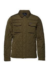 Classic Quilted Shirt Jacket