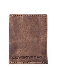 Cowboysbag-Portemonnees-Wallet Peachtree-Bruin