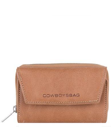 Cowboysbag Ritsportemonnees Purse Etna Bruin