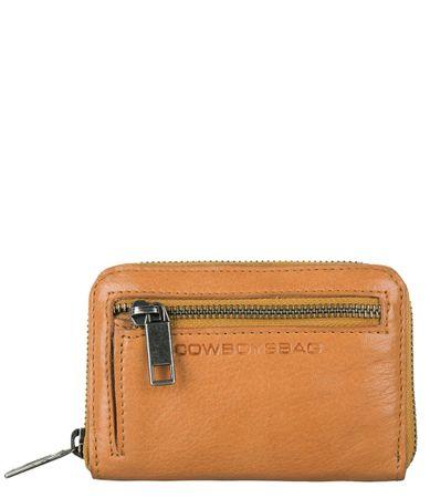 Cowboysbag Ritsportemonnees Wallet Flora Geel