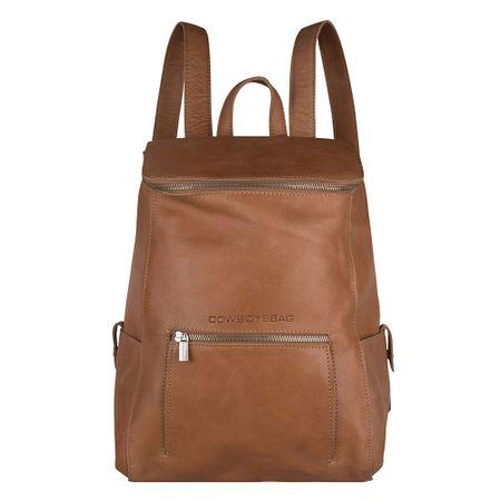 """Cowboysbag Slanted Delta Backpack 13"""" camel backpack"""