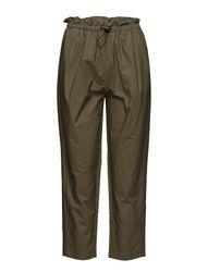 Cropped Paperbag Pants
