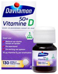 Davitamon Vitamine D 50 Plus Smelttablet 130st