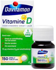 Davitamon Vitamine D Kind Smelttabletten 150st