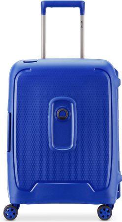 Delsey Moncey Slim Cabin Trolley Case - 55 cm - Blue