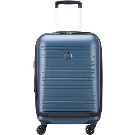 Delsey Segur 2.0 Business Front Pocket Spinner 55cm Blue