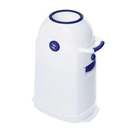 Diaper Champ  Luieremmer Regular blauw - Wit