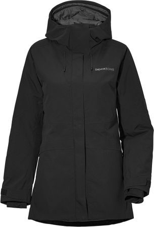 Didriksons Alta Jacket 2 Dames Outdoor Jas - Black