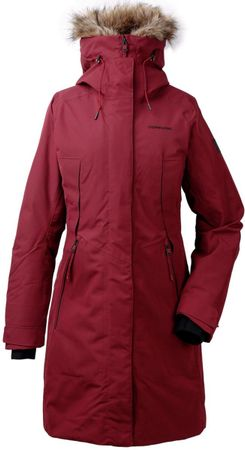 Didriksons Mea Parka Outdoorjas Vrouwen - Anemon Red