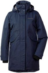 Didriksons Tanja Parka 3 Outdoorjas Vrouwen - Dark Night Blue