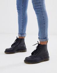 Dr Martens - 101 6 Laarzen met veterringen-Zwart