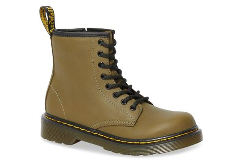 Dr. Martens 1460 j dms olive romario smoother finish groen