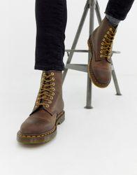 Dr Martens - 1460 - Laarzen met 8 veteroogjes in bruin