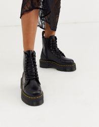 Dr Martens - Jadon - Laarzen met een dikke plateauzool-Zwart
