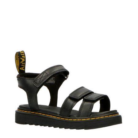 Dr. Martens Klaire J Black T Lamper leren sandalen zwart