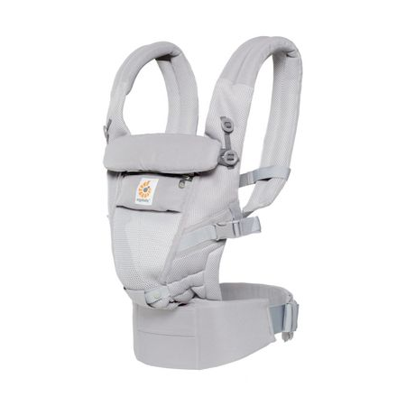 Ergobaby Adapt Cool Air Mesh Draagzak Carbon Grey