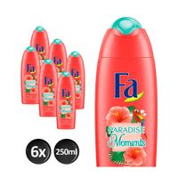 FA Paradise Moments douchegel - 6x 250ml multiverpakking
