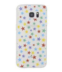 Fabienne Chapot Smartphone covers Stars Softcase Samsung Galaxy S7 Edge Zwart