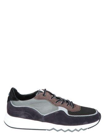 Floris van Bommel 16093 Black G+Wijdte Sneakers lage-sneakers