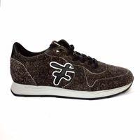 Floris van Bommel Sneaker grey suede art. 16226/08 grijs