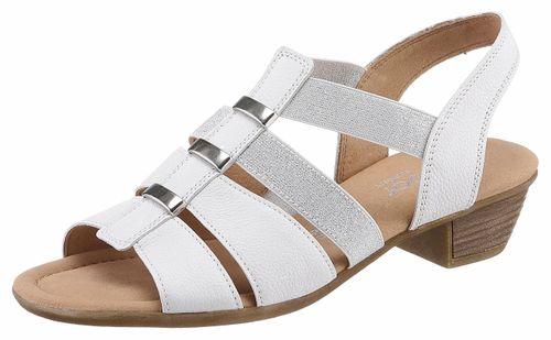 Gabor sandaaltjes met aantrekkelijke metalen applicaties