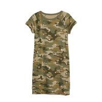 GAP sweatjurk met camouflageprint kaki
