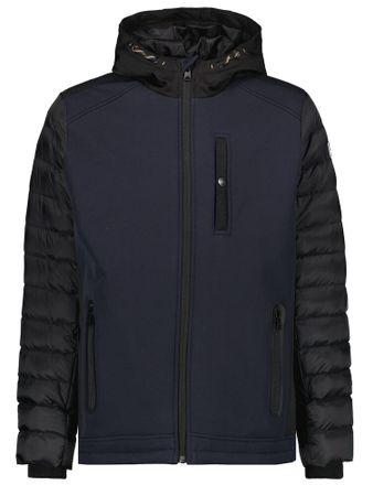 Garcia softshell jas donkerblauw gj 030807