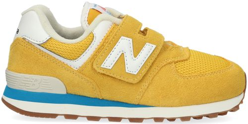 Gele New Balance Lage Sneakers Pv574